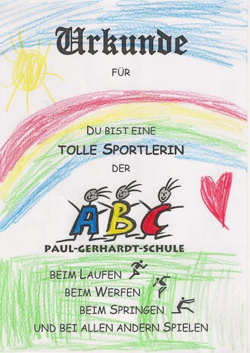Mai 2015 Paul Gerhardt Schule