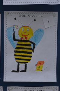 Paulchen - Schulmaskottchen 05.2018